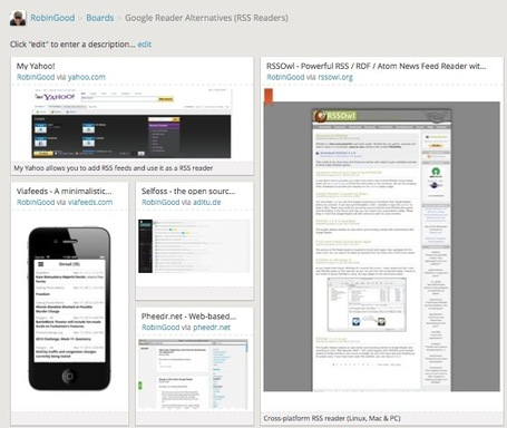 Google Reader Alternatives: Which One Is Best For You? 30 Tools To Choose From | Didáctica da Informática | Scoop.it