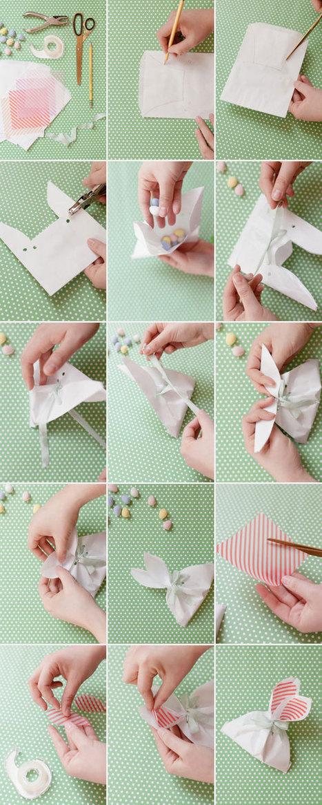Bunny Ear Bags DIY   Idées de DIY   Scoop.it