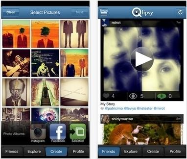 Con Qlipsy puedes crear un vídeo con tus fotos de Facebook e Instagram | Math, technology and learning | Scoop.it