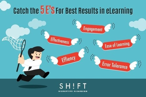 How Usable is Your eLearning Course? Follow the 5 E's For Best Results | Focus: Online EdTech | Scoop.it