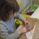 DIY sewing frame for preschoolers | Teach Preschool | Scoop.it