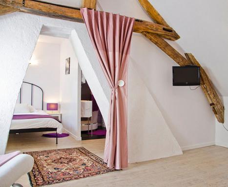 Un relooking royal pour ce grenier aménagé par Clovis - CôtéMaison.fr | Espaces Zen | Scoop.it