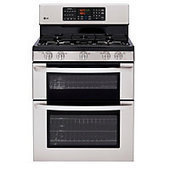 """LG 30"""" Stainless Steel Double Oven Gas Range (Model: LDG3015ST)   Solution for cooking for enough guests   Scoop.it"""