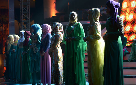 Muslim beauty pageant challenges Miss World contest | Global education = global understanding | Scoop.it