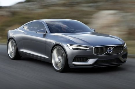 Volvo Concept Coupe is brand's 'next-generation P1800' [w/video] | What Surrounds You | Scoop.it
