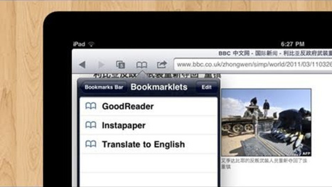 Quickly Add Bookmarklets to Safari Using a URL Trick   TIIE 1:1 Resources   Scoop.it