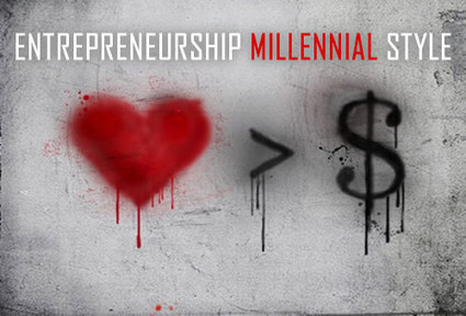 ENTREPRENEURSHIP MILLENNIAL STYLE | Culturational Chemistry™ | Scoop.it
