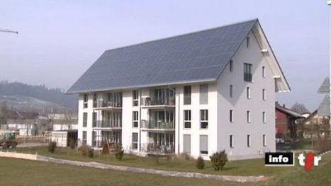 Oberburg (BE): visite d'un immeuble entièrement chauffé par l'énergie solaire   Solaire thermique   Scoop.it