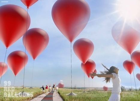 99 Red Balloons | LAGI-2012 | Creative Explorations | Scoop.it