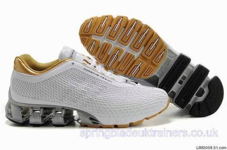 Adidas Porsche Design Sport Bounce S3 Running Trainers White Gold.jpg (640x425 pixels) | springbladeuktrainers.co.uk | Scoop.it