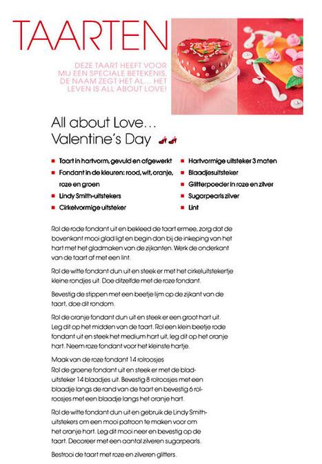 Maak een Valentijnstaart van Zaligzoet | Books&More | Scoop.it