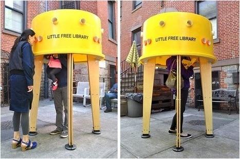 Biblioteksbella: Världens minsta bibliotek? | Skolbiblioteket och lärande | Scoop.it