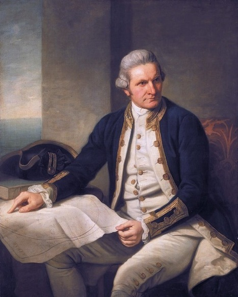 Captain Cook's ivy a worthy sailor | the first fleet | Scoop.it