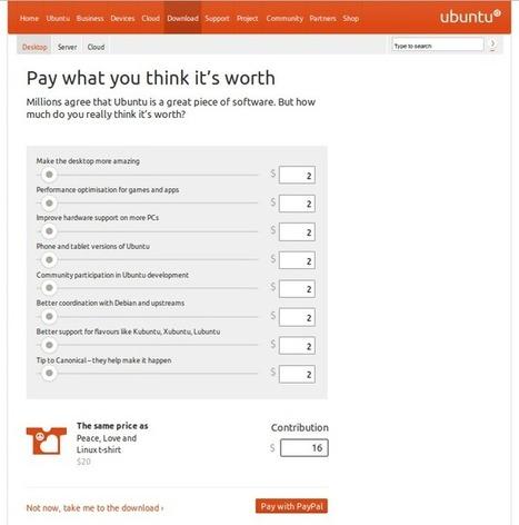 "Canonical Launched ""Donations"" through the Official Ubuntu Site | Ubuntu Desktop | Scoop.it"