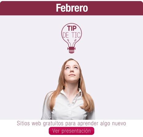 Tip de Tic Febrero 2016 | Tip de TIC | Scoop.it