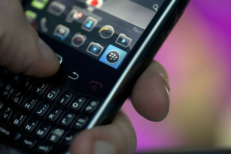BlackBerry Jumps After Protecting Turf in Defense Agency | Social Media, Marketing, Business | Scoop.it