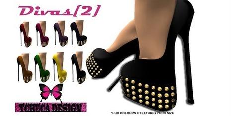 **Fique fashion no Second Life : SHOES DIVAS [2] *** TCHUCA DESIGN 25L$ | Fashion | Scoop.it