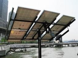 Photovoltaïque : le suivi du soleil par tracker - L'Energeek | Veille Energie | Scoop.it