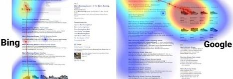 Etude d'eyetracking : comment les utilisateurs regardent les résultats dans Google et Bing ? | Reputation VIP | E-reputation - Reputation VIP | Scoop.it