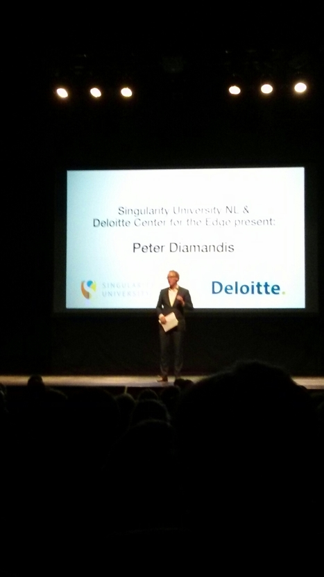 Great event about Singularity by Peter Diamandis #sunl | Linkdumping | Scoop.it
