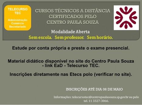 Garanta seu espaço no mercado de trabalho   Telecurso TEC   Scoop.it