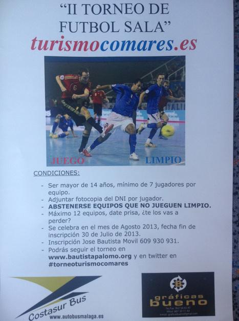 II Torneo de Futbol - Comares - 30 de Julio | Cosas de mi Tierra | Scoop.it
