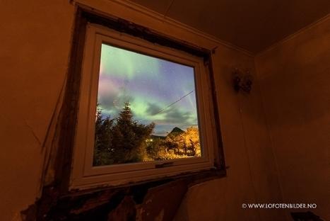 aurore boréale aux #Lofoten #Norvège par la fenêtre, le 30/08/2016... depuis le sofa ;) | Arctique et Antarctique | Scoop.it
