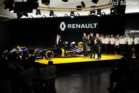 F1 - Renault n'a aucun objectif pour 2016 | Auto , mécaniques et sport automobiles | Scoop.it
