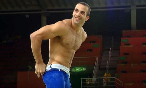 Danell Leyva si spoglia a Rio | Gayburg | Scoop.it