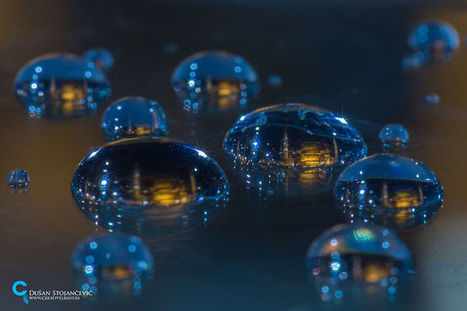 Macro Photos of Entire Cityscapes Captured Within a Single Drop of Rainwater | Le It e Amo ✪ | Scoop.it