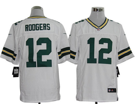 Green Bay Packers #12 Roogers Elite Jersey-White | discount jerseys and hat | Scoop.it