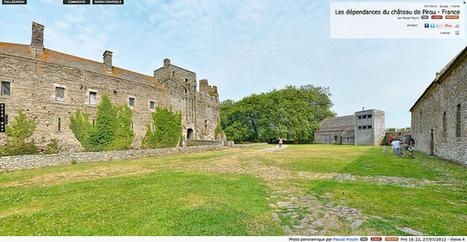 Visite virtuelle - Les dépendances du château de Pirou - France par Pascal Moulin | moulin360panoramic | Scoop.it