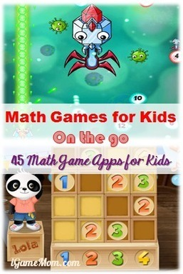 Fun Math Games for Kids - 45 Math Game Apps | iGameMom | K-12 Math and Science | Scoop.it