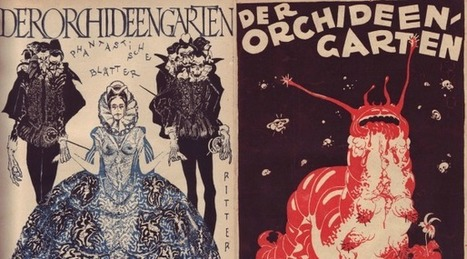 Discover the First Horror & Fantasy Magazine, Der Orchideengarten, and Its Bizarre Artwork (1919-1921) | Gothic Literature | Scoop.it