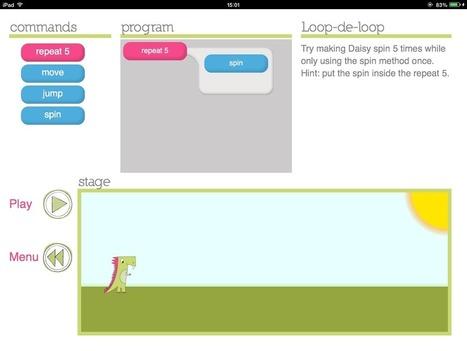 7 apps para aprender a programar jugando con el Ipad   Educación XXI   Scoop.it