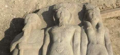 Arqueólogos hallan una estatua de Ramsés II con más de 3.000 años de antigüedad en Egipto - 20minutos.es   Patrimonio cultural   Scoop.it
