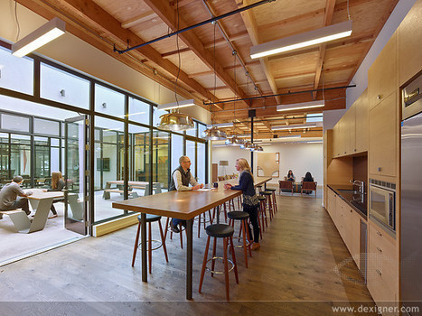 Studio VARA Transforms Retail Building into New Open Office Space | retail and design | Scoop.it