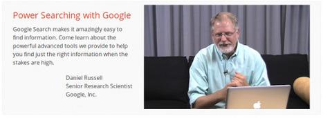 Power Searching with Google: migliora la tua ricerca su Google in 6 lezioni | Social Media: notizie e curiosità dal web | Scoop.it