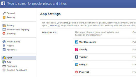 Be careful while sharing your information with facebook apps | W3 Update | Tutorial | Scoop.it