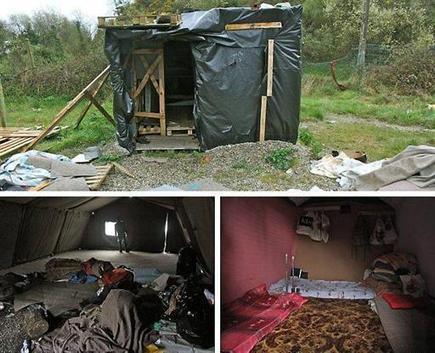 Les réfugiés afghans de retour dans leur squat - maville.com | Partir-Venir: Les réfugiés | Scoop.it