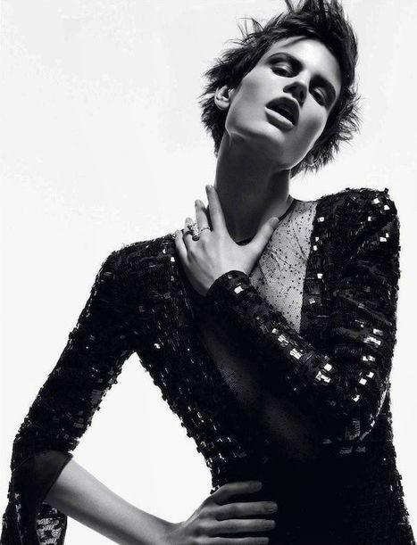Karl Lagerfeld enrôle à nouveau Saskia de Brauw pour sa campagne eyewear | Fashion & more... | Scoop.it