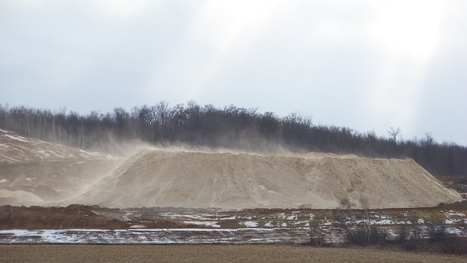 Sand From Fracking Could Pose Lung Disease Risk To Workers : NPR | Frac sand mining | Scoop.it