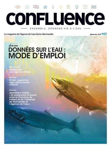 Confluence, le magazine de l'Agence de l'eau Seine-Normandie - N°62 - Septembre 2016 | DD Normandie | Scoop.it