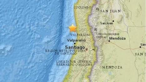 Un séisme de magnitude 6,6 secoue Santiago du Chili   Chronique d'un pays où il ne se passe rien... ou presque !   Scoop.it