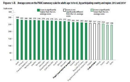 U.S. Adults Below Average in Numeracy and Tech, International Report Finds | STEM Connections | Scoop.it