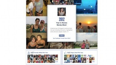 Relive Your 2012 Year in Social Media with Facebook and Twitter Tools | Social Media Tips, Tricks, Stuff | Scoop.it