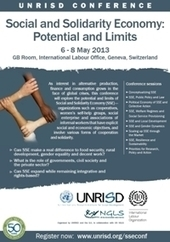 UNRISD: Events | Potential and Limits of Social and Solidarity Economy | Digital Finance | Scoop.it