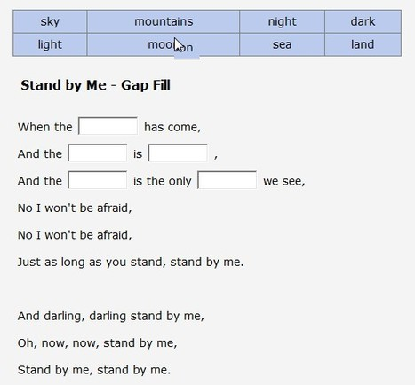 Learn English With Songs - Stand by Me, By Playing For Change | Information Technology Learn IT - Teach IT | Scoop.it