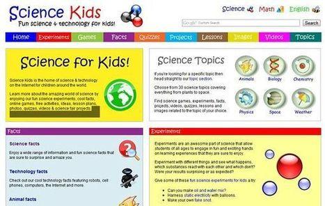 Science Kids, experimentos científicos para niños | TIC, educación y demás temas | Scoop.it