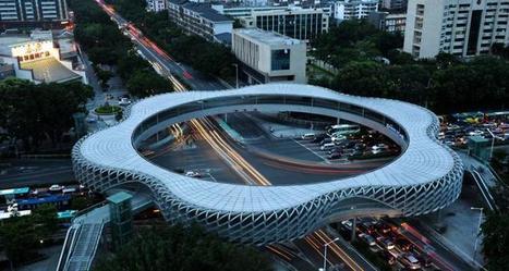 Pedestrian Bridge in Shenzhen, China - Arch2O.com   tecnologia s sustentabilidade   Scoop.it